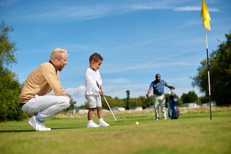 9-hole golf course