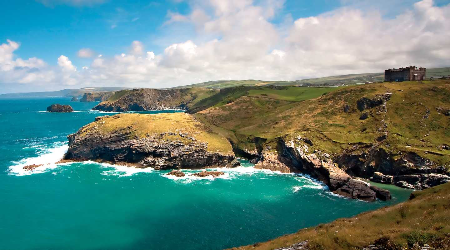 Tintagel coast