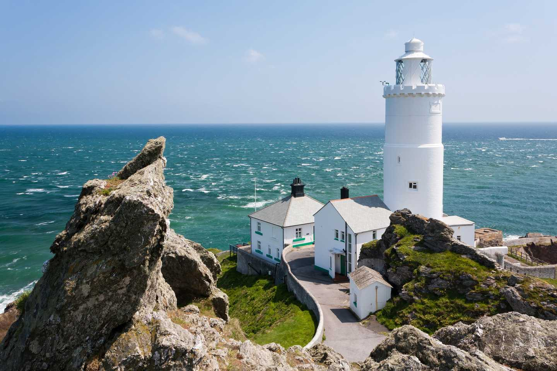 Start Point lighthouse in Devon