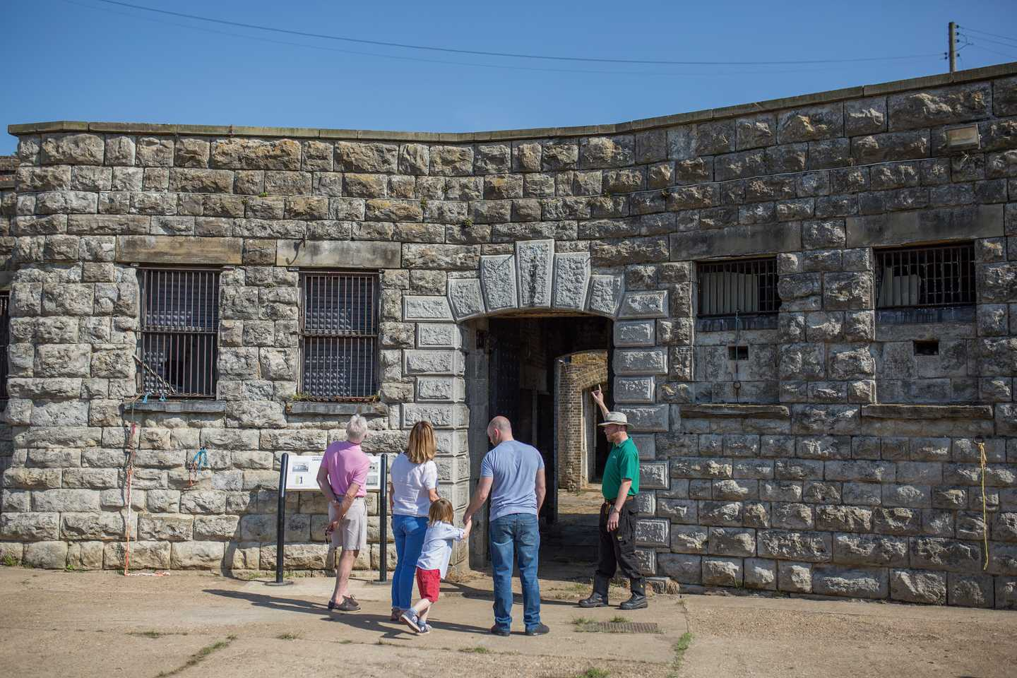 Guests at Slough Fort in Allhallows-on-Sea