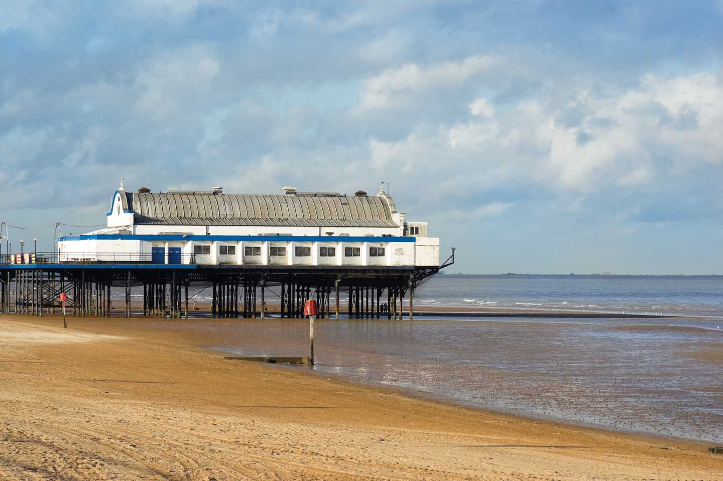 The pier at Cleethorpes, Lincolnshire