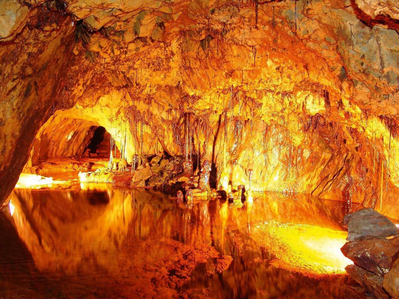 Inside the Sygun Copper Mine