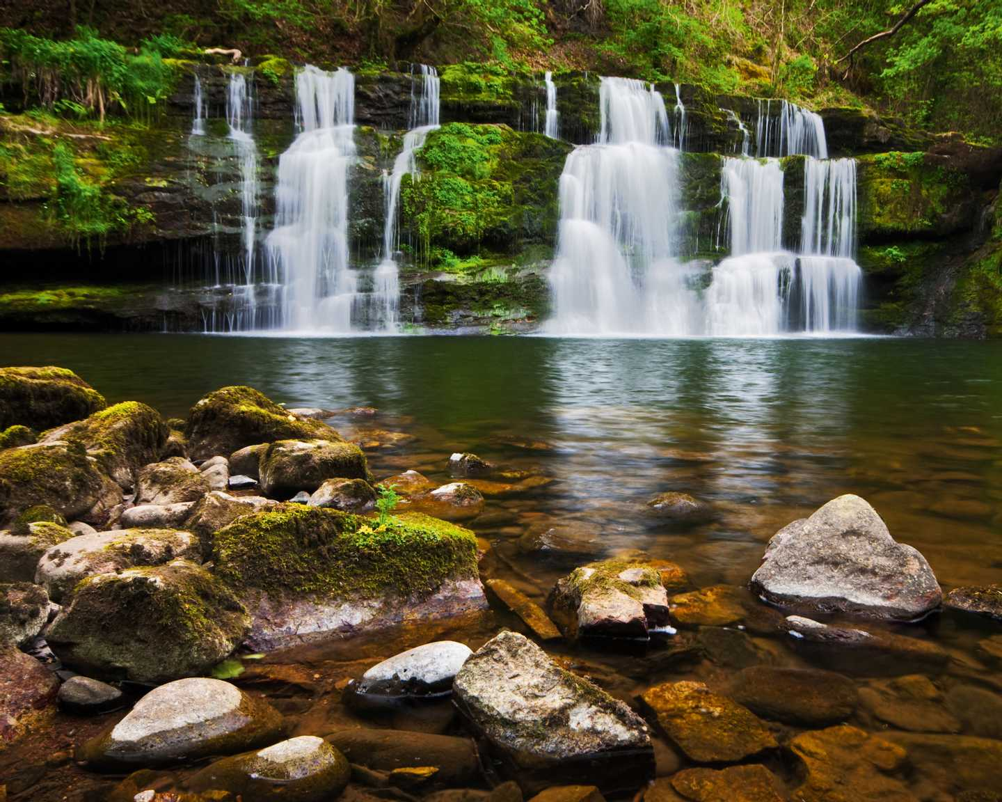 Waterfalls in the Brecon Beacons National Park