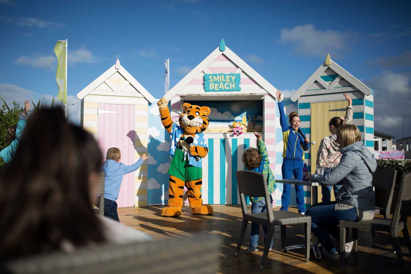 Rory by the Pop-Up Puppet Theatre Co. beach hut