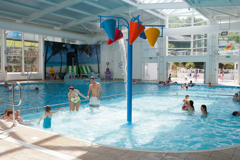 The indoor pool at Kiln Park