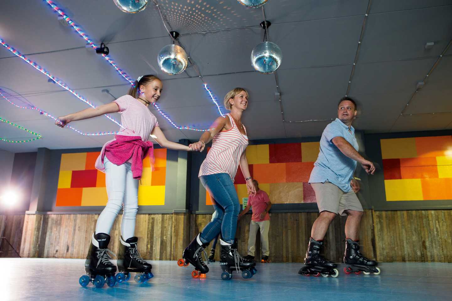 Rollerdisco in full swing