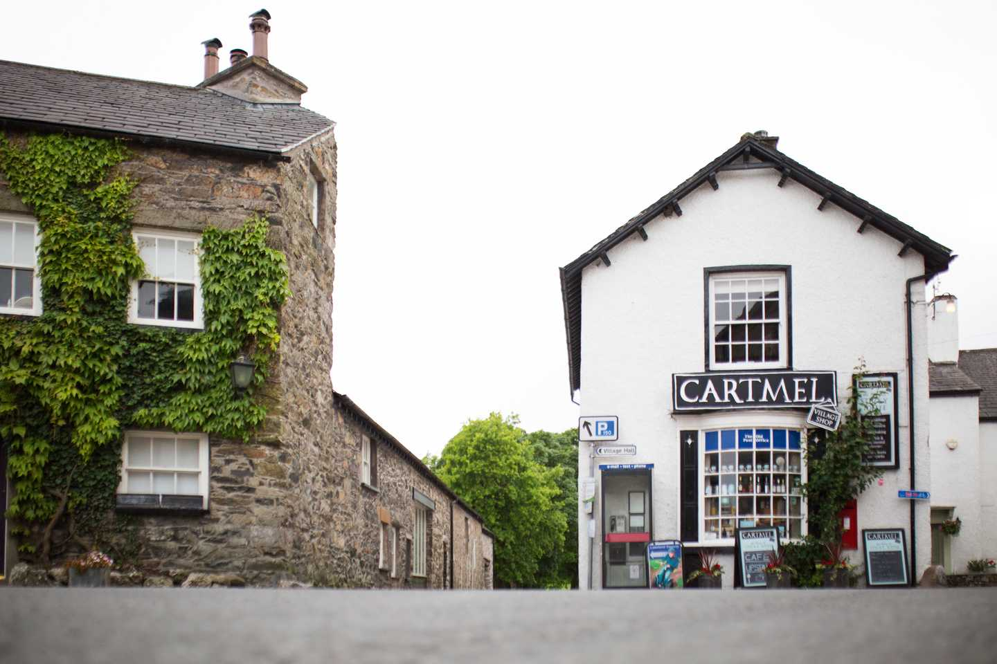 Cartmel Village square