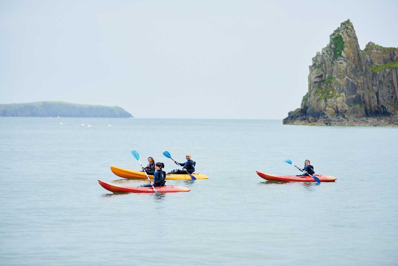 Sea Kayak Hire