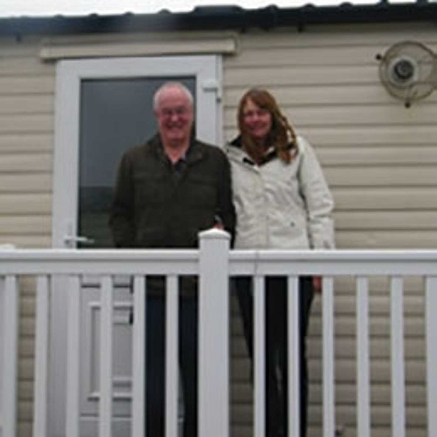 Peter and Margaret Gill, some of our owners at Littlesea