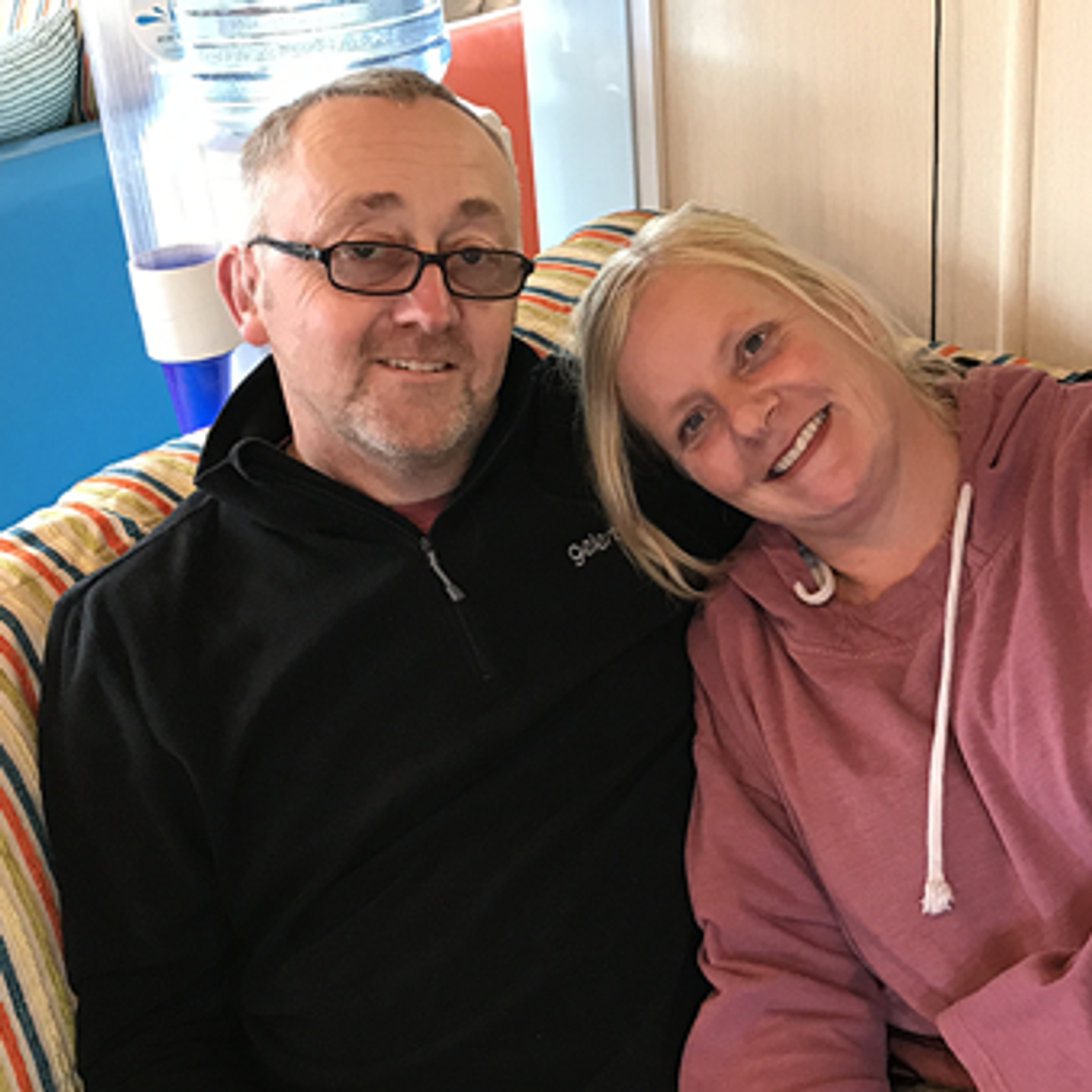 Adrian Watts and Karen Wright, some of our owners at Perran Sands