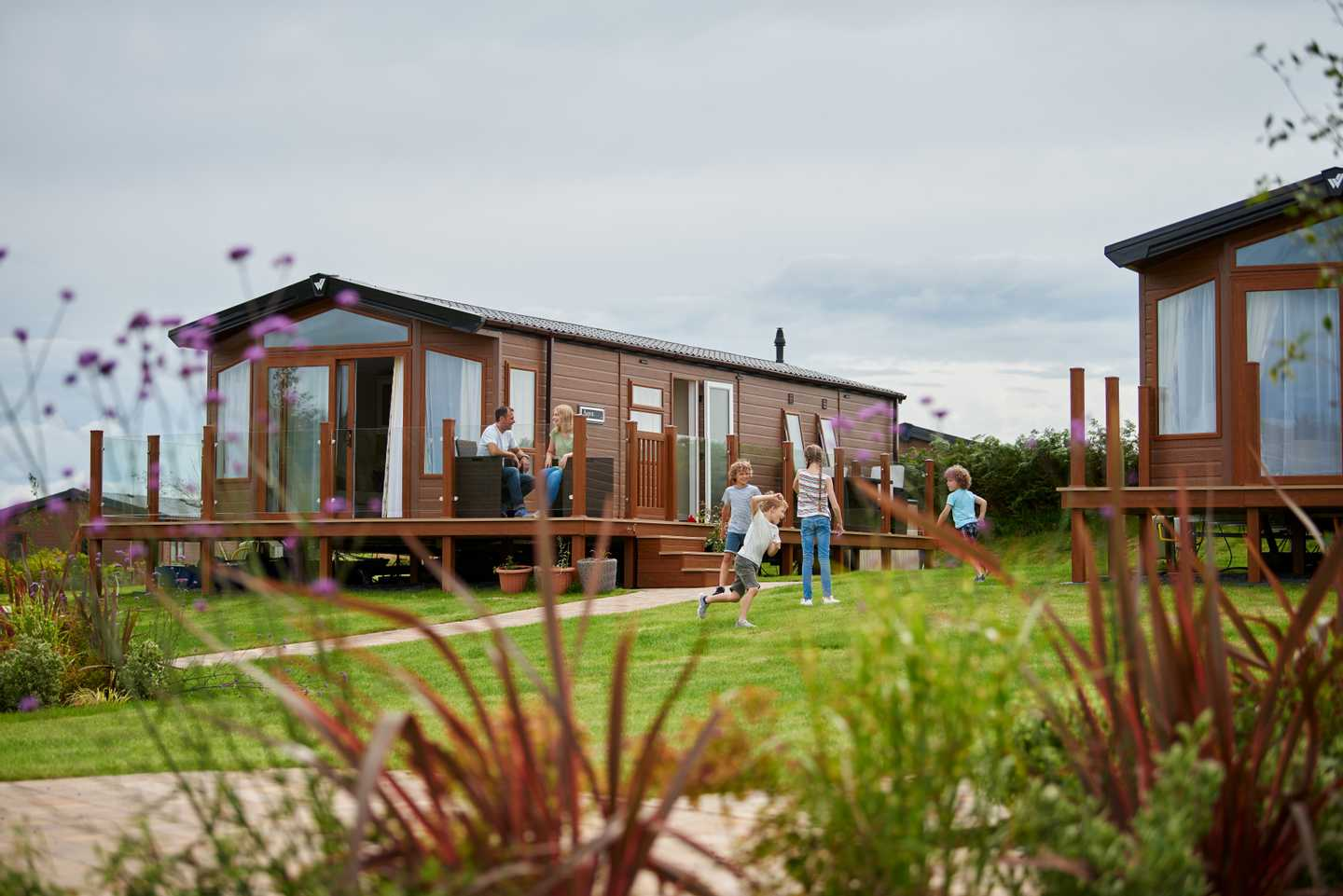 A view of one of our lodges