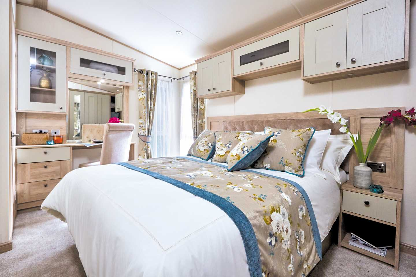 Master bedroom in an ABI Beaumont