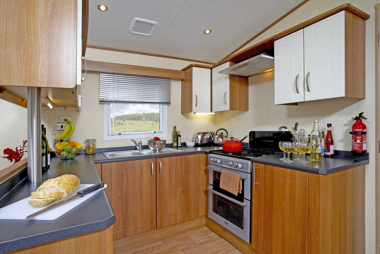 Kitchen in an ABI St David