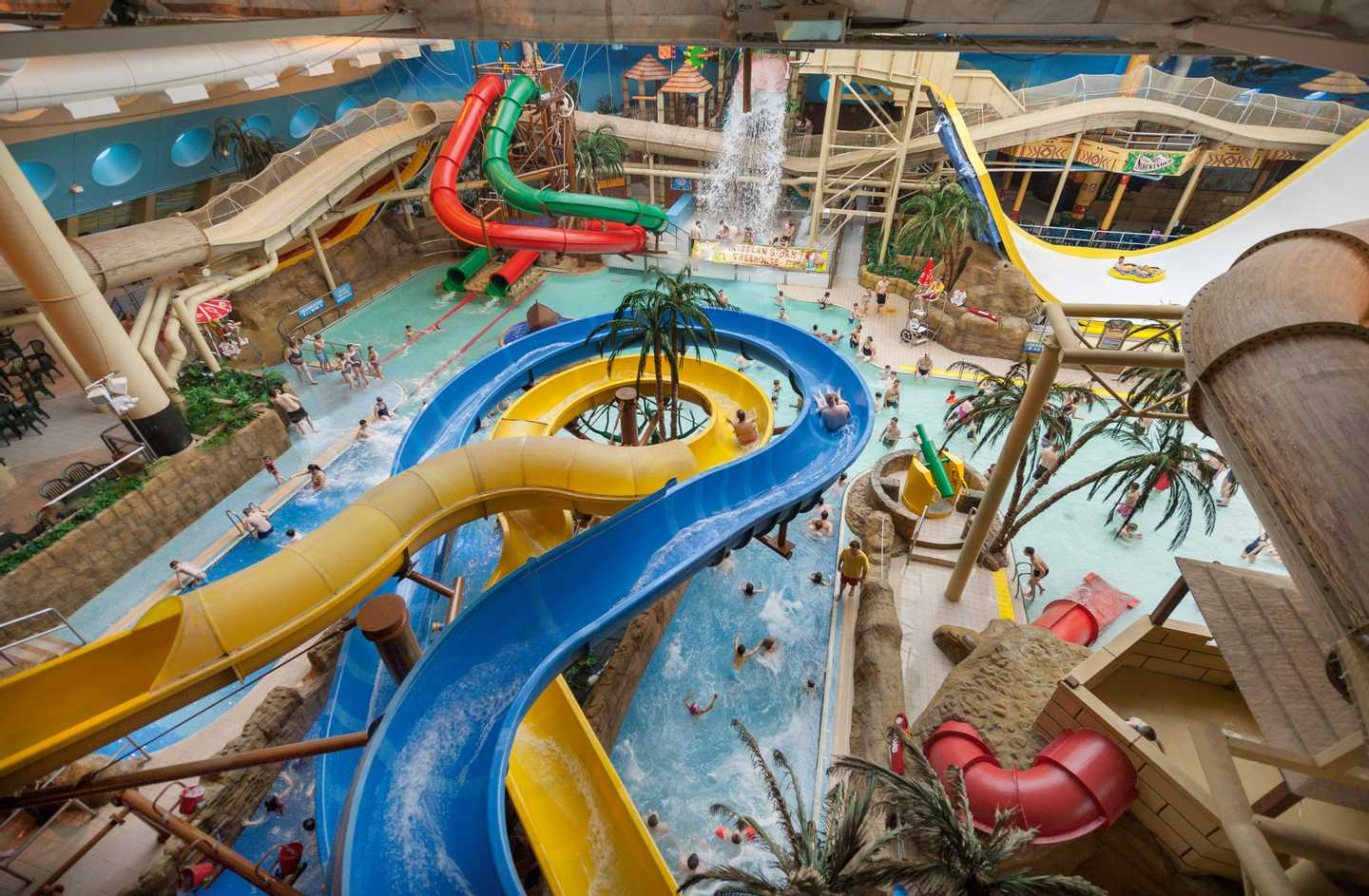Waterslide in Sandcastle Waterpark