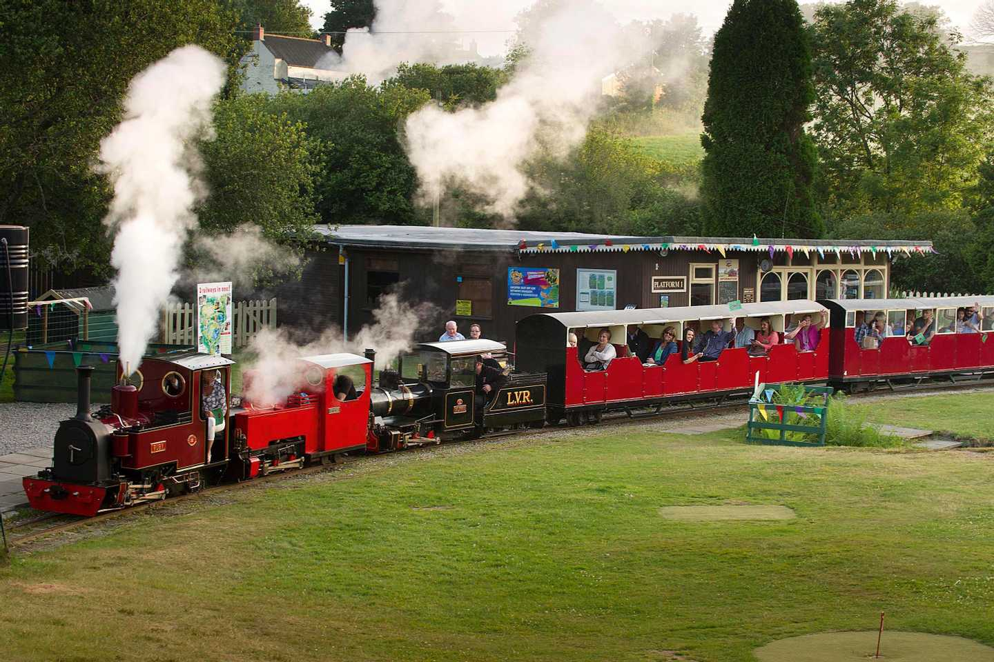 Lappa Valley Steam Train