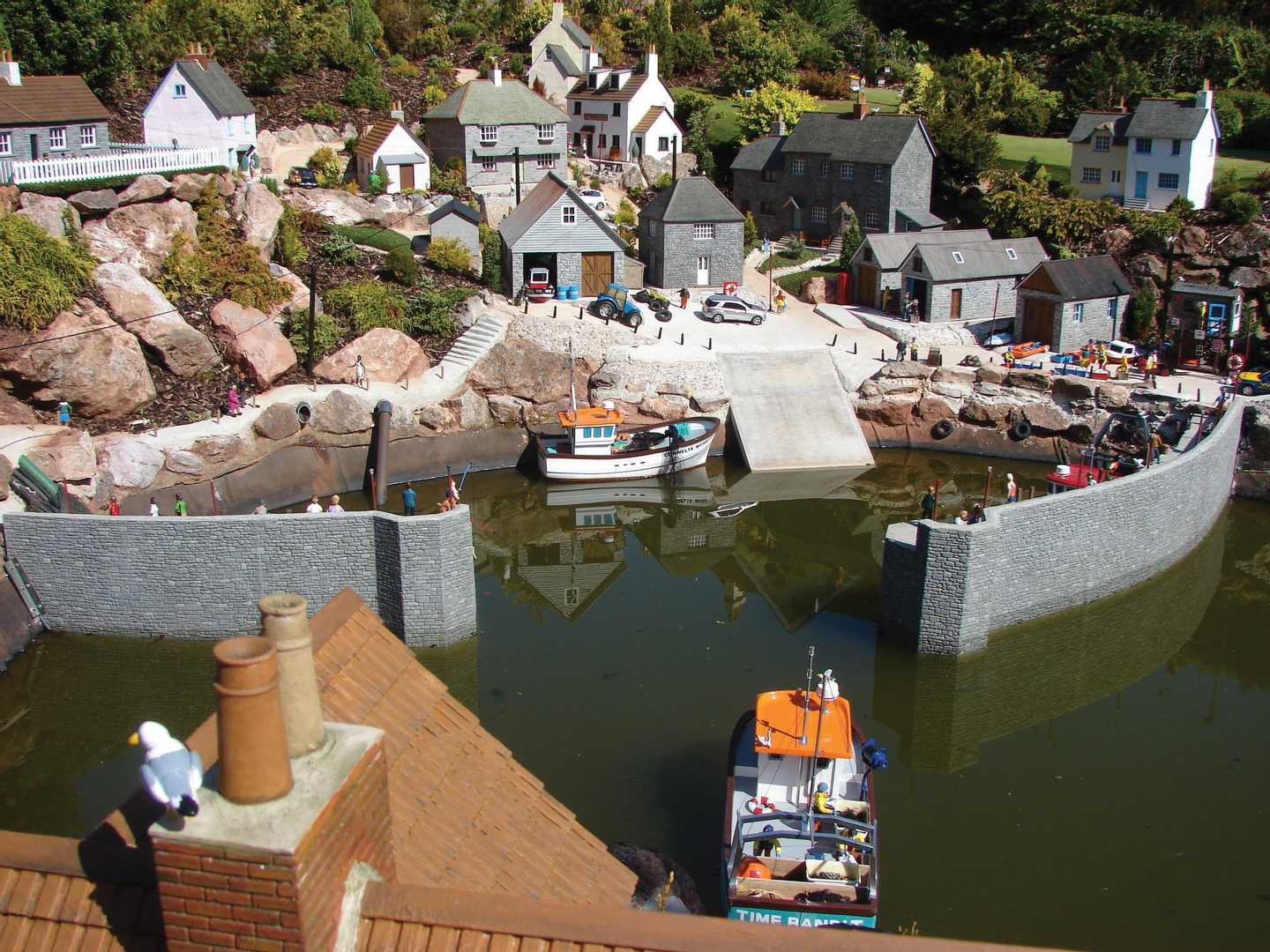 A fishing village at Babbacombe Model Village