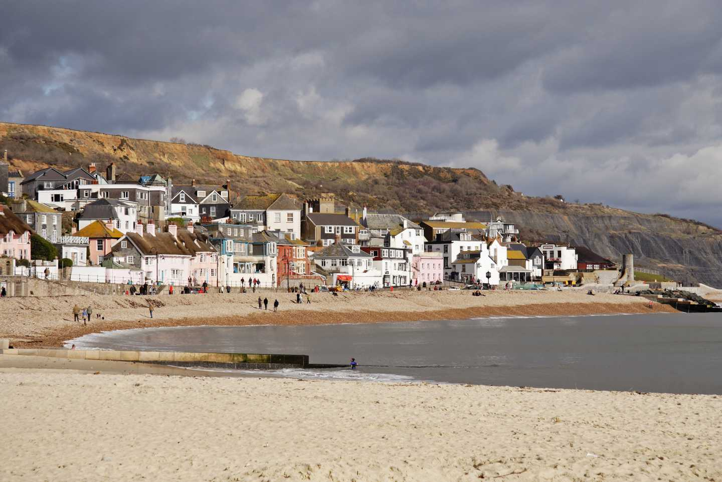 Coastal town of Lyme Regis