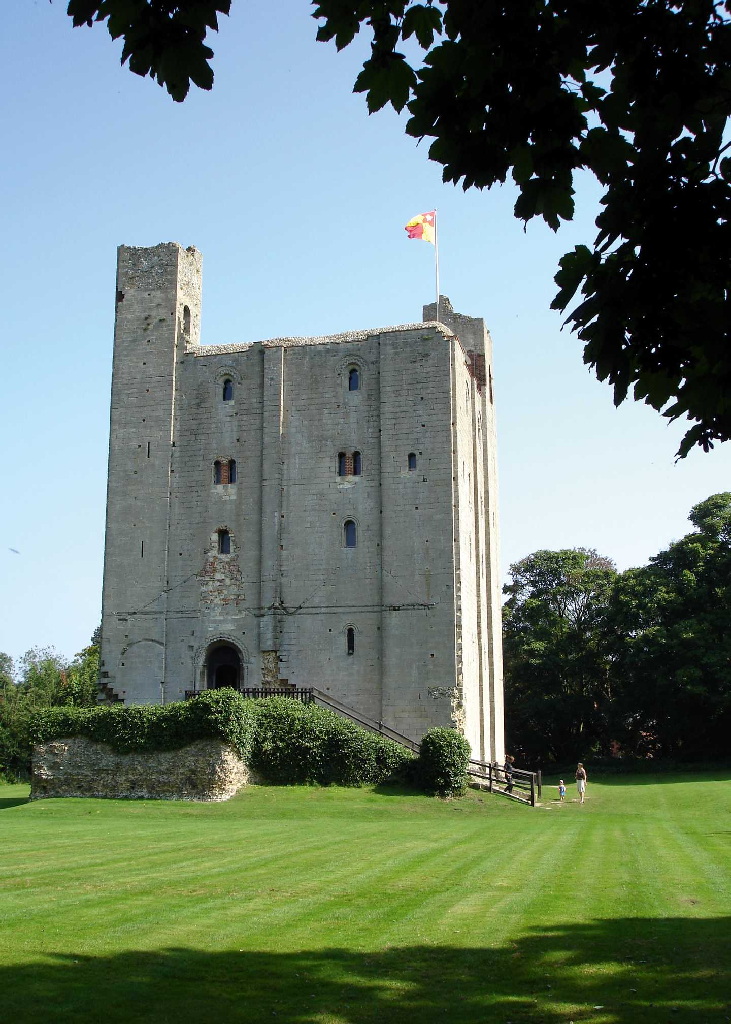 Exterior of Hedingham Castle