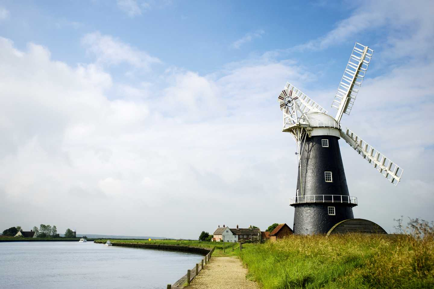 Visit the Norfolk broads