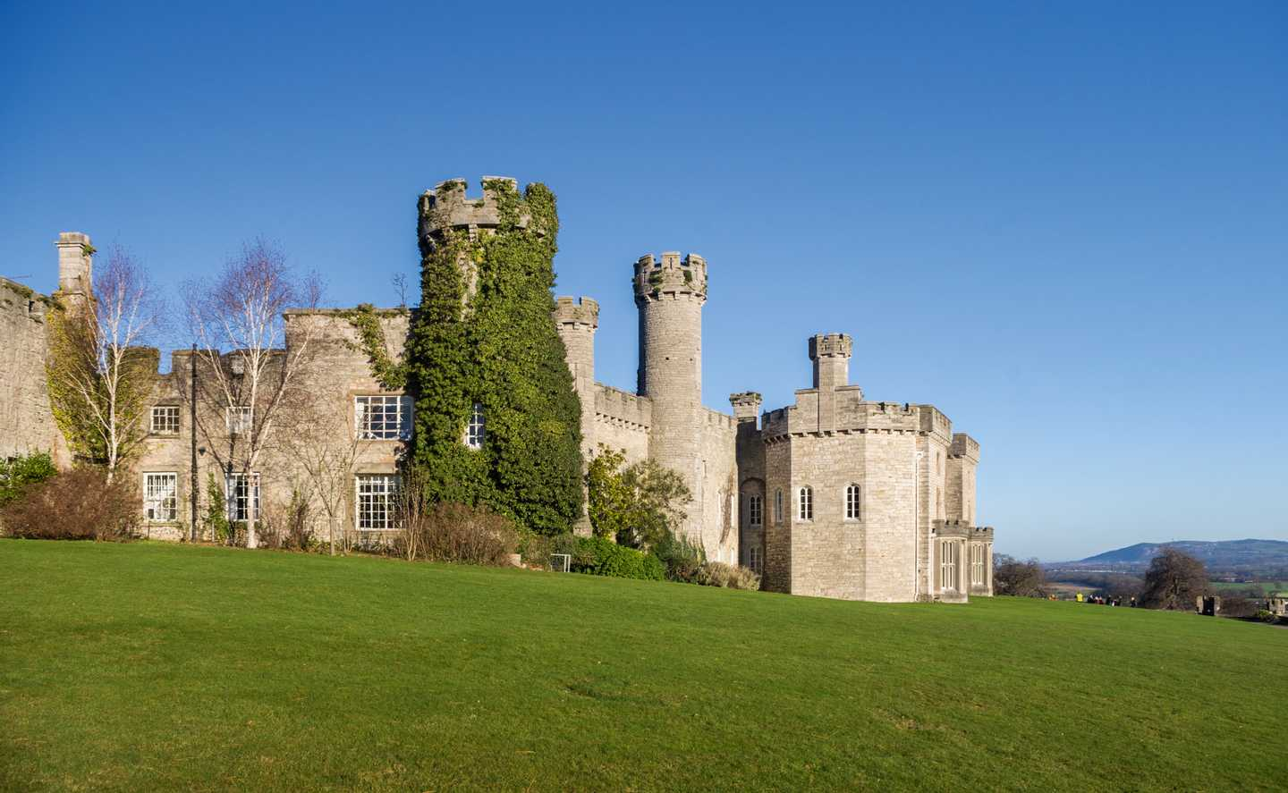 Exterior view of Bodelwyddan Castle